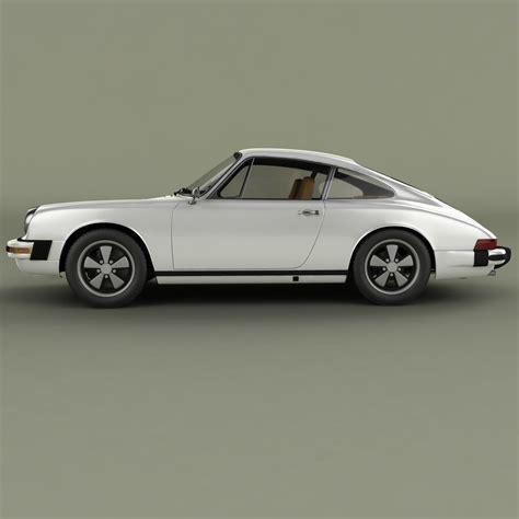 Model Porsche 911 by Porsche 911 1974 3d Model Max Obj Cgtrader
