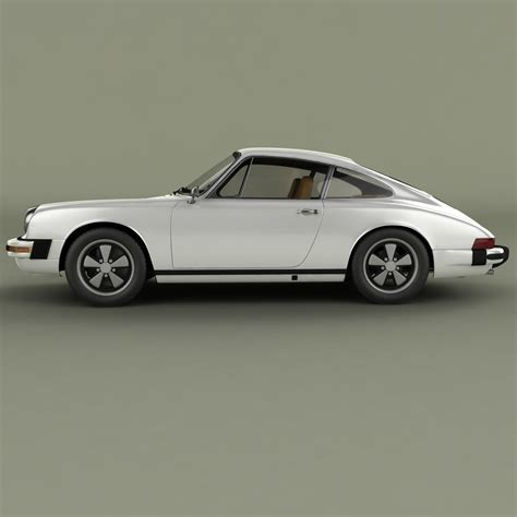 porsche model car porsche 911 1974 3d model max obj cgtrader com