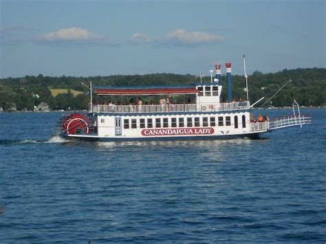 finger lakes itinerary find castles lakes and grapes galore - Canandaigua Lady Boat Tour