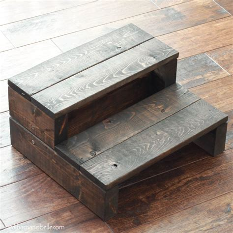Easy Wood Step Stool Plans
