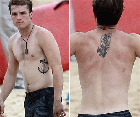 josh hatcherson tattoos celebritiestattooed com