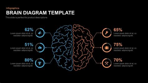 brain template brain diagram template slidebazaar