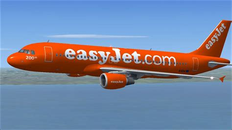 Easy Jr easyjet airbus a320 214 for fsx