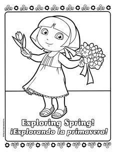dora spring coloring pages fresa para colorear shortcake fresitas pinterest