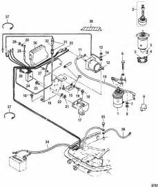 mariner 25 hp 2 cylinder 2 stroke international electric starter components parts