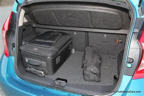 nissan note interior trunk nissan versa note interior dimensions