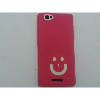 pattern unlock gionee m2 gionee m2 soft back cover smily fancy pattern pink white