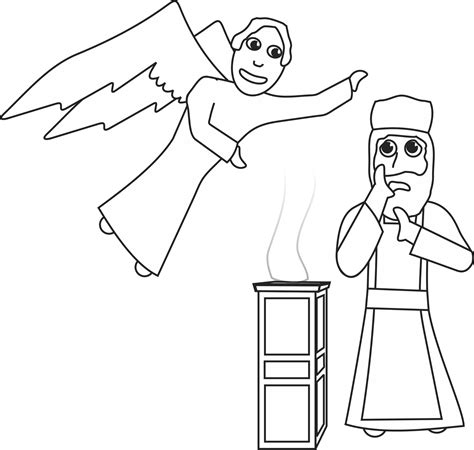 coloring pages zechariah and elizabeth zechariah and elizabeth bible crafts