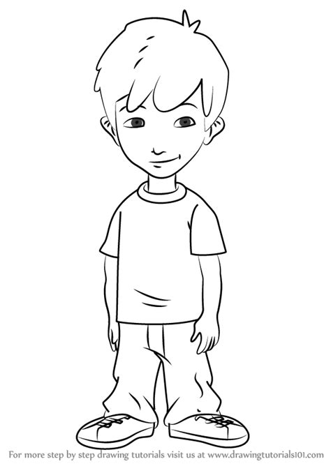 Step by Step How to Draw Enrique from Dragon Tales ... Eagle Coloring Pages Free