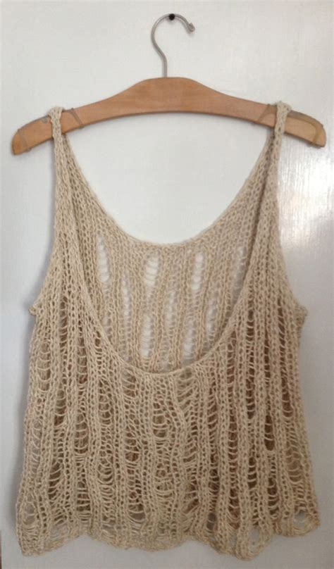 knit tank top pattern ribs knits and stitches on