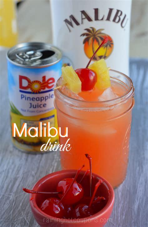 malibu cocktail malibu drink