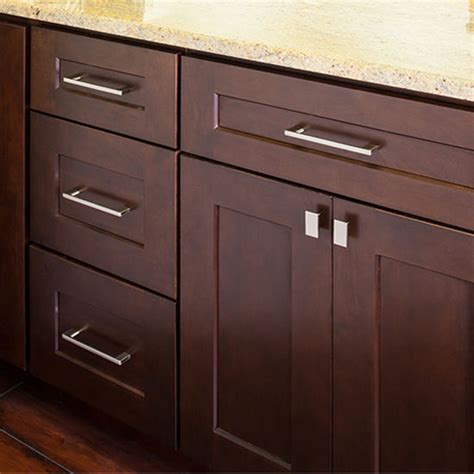 mirada collection rectangle cabinet knob   wide