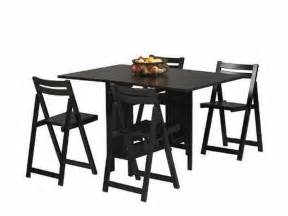 Folding Table And Chair Sets Dining Dining Room Black Folding Dining Table And Chairs