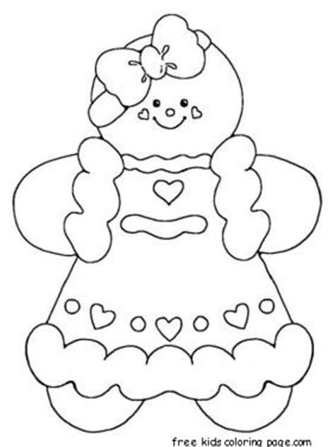 gingerbread man characters coloring pages printable gingerbread man coloring pages for kidsfree