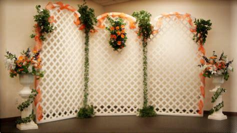 Wedding Backdrop Lattice wedding backdrops