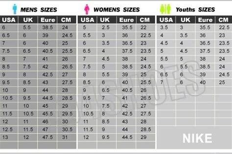 nike shoes size chart japan uk size chart women dhoes