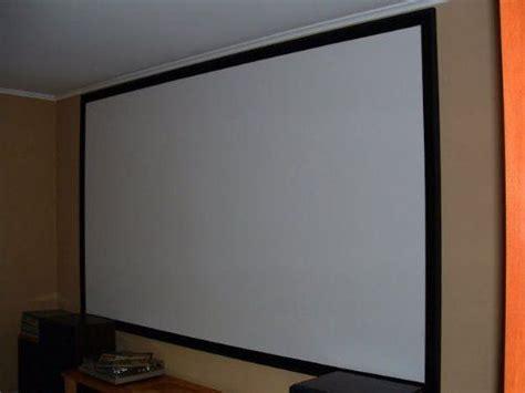 projection screen diy carls blackout cloth diy projector screen material