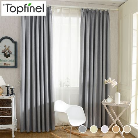 Bedroom Window Treatments 2016 Aliexpress Buy Top Finel 2016 Solid Twill Window