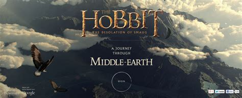 chrome themes hobbit a journey through middle earth experience the hobbit s