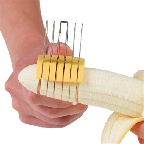 Banana Cutter as seen on tv new banana slicer stainless steel fruit