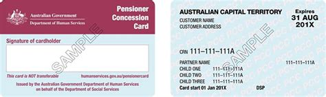 concessions business card template pensioner concession card what benefits will i get
