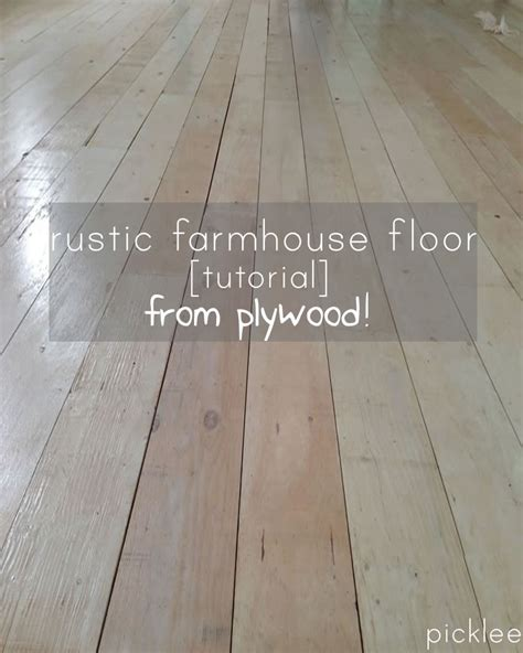 diy wood plank floors cafemom