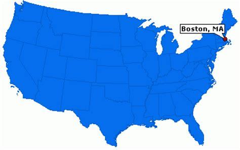 where is boston usa on the map boston massachusetts location map