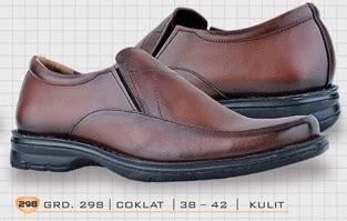 Pantofel Coklat 01 sepatu modis pria sepatu model terbaru