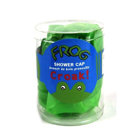 bath shower cap frog shower cap swim cap pink cat shop