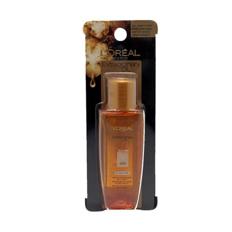 Harga L Oreal Extraordinary jual l oreal els extraordinary gold serum 50 ml