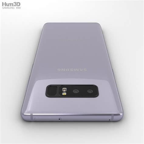 Samsung Note 8 Orchid Grey samsung galaxy note 8 orchid grey 3d model hum3d