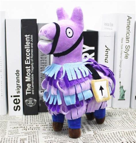 cm fortnite stash llama plush troll loot stash alpaca
