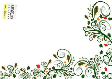 side designs simple side border designs cliparts co flower designs