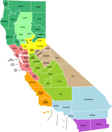 california map labeled file california economic regions map labeled and colored svg