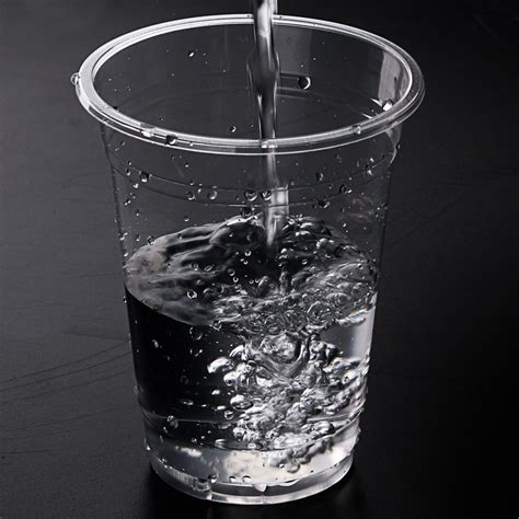 Gelas Plastik Tea 100pcs disposable plastic water cup glass plastic mug tea