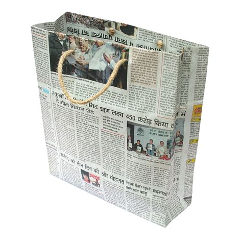 Paper Bags From Newspaper - newspaper bags pack of 10