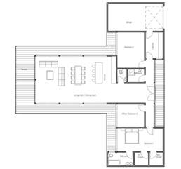 economical house plans affordable home plans economical house plan ch164