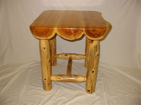 Cedar Dining Room Table Rustic Log Tables