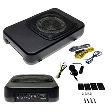 Auto Subwoofer Aktiv 600 W Mac Audio Ice Cube 108 Swb by Kfz Aktiv Subwoofer 20cm Car Hifi Von Adapter Universe Test