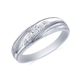 mens white gold promise ring gemologica a