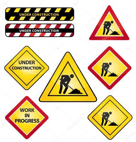 clipart edilizia nellambito della segnaletica stradale edilizia o lavori in