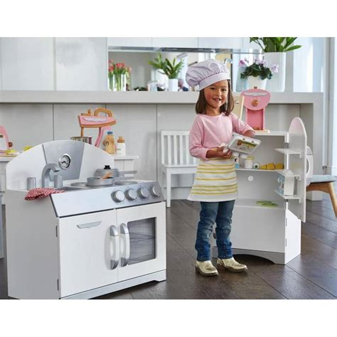 Kitchen Set Day new childrens toddler white retro pretend play