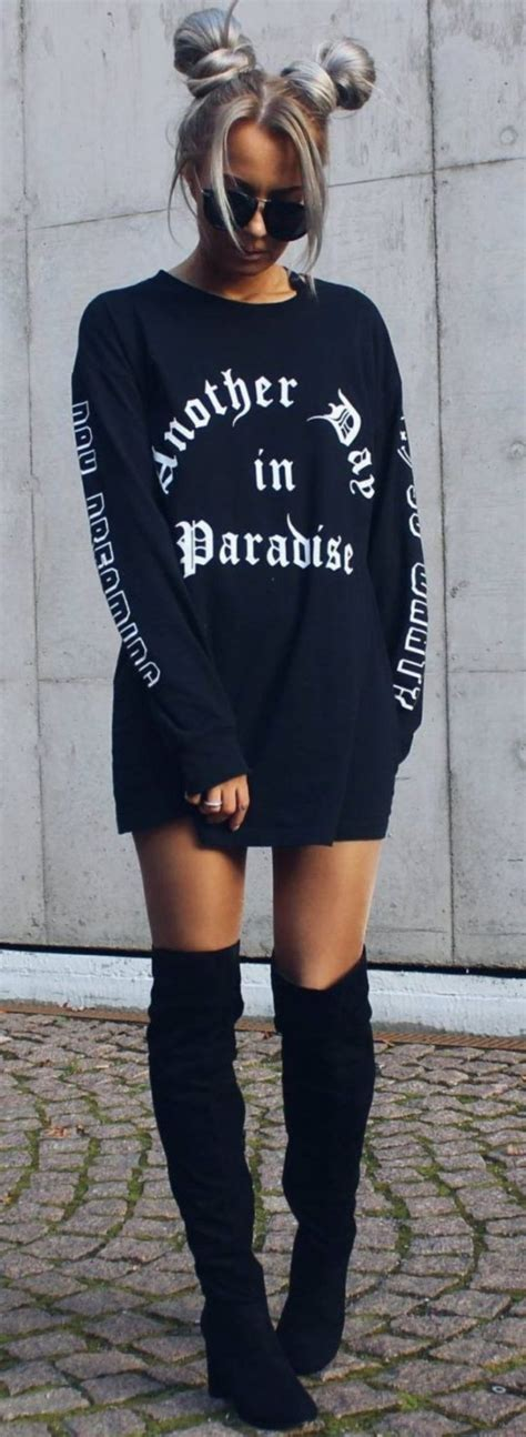 cute oversized  shirts outfit styles   copy https