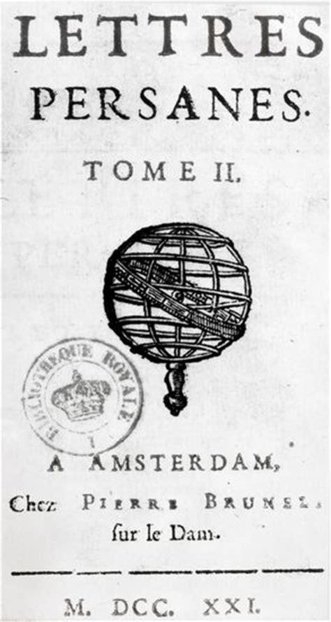 letters montesquieu encyclop 233 die larousse en ligne charles de secondat baron