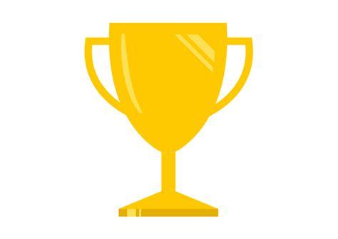 clipart vectors free vector flat trophy illustration