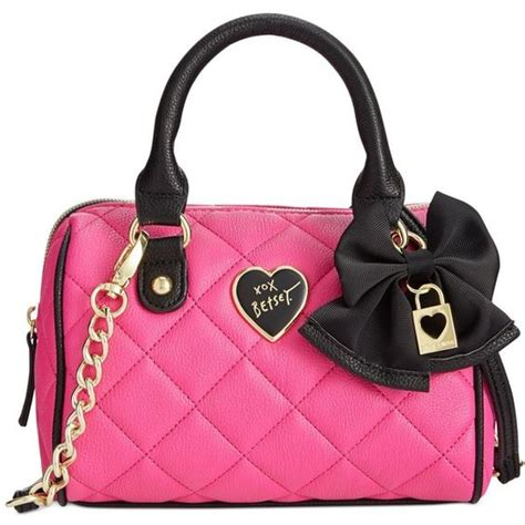 purses and bags betsey johnson mini crossbody 79 aud liked on polyvore
