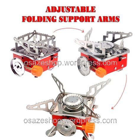 Kompor Gas Mini Protable Cing kompor gas kecil portable osaze shop