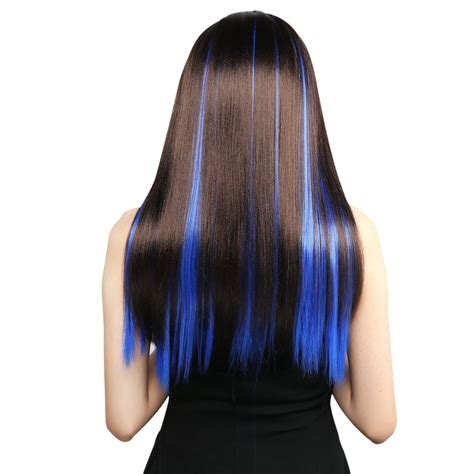 colored extensions neitsi 10pcs 18inch colored highlight