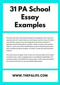 Essay About Our School by 31 Physician Assistant Personal Statement Exles The Physician Assistant