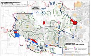 map of hillsboro oregon where recreational pot retailers could show up in